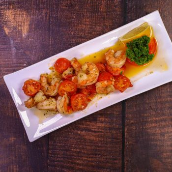 Скариди с домати от ресторант Фантазия