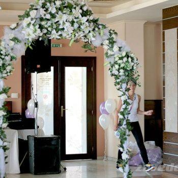 Сватбена арка ресторант Фантазия