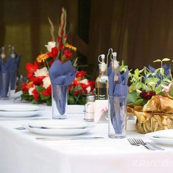 Сватбена маса в градина Фантазия