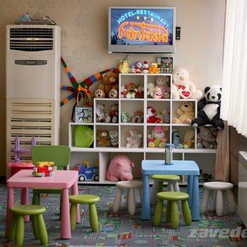 Закрит детски кът ресторант Фантазия